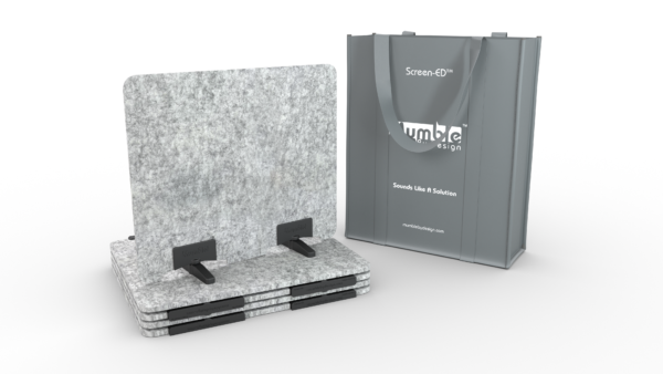 marble acoustic desk dividers for students